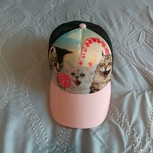 Snapback Cap with Kittens for sale